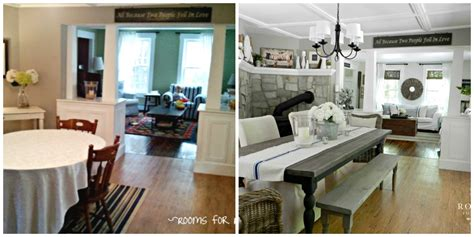 Lowes Dining Room Makeover Fall Home Makeover Teaming Up With Lowe S Rooms For