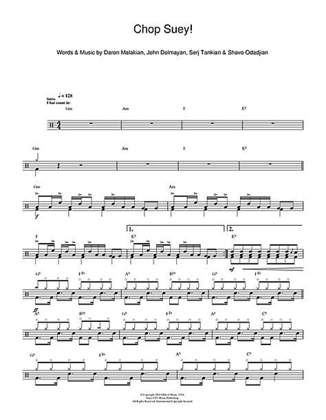 drum tutorial chop suey chop suey drum tab by by system of a down drums 112226