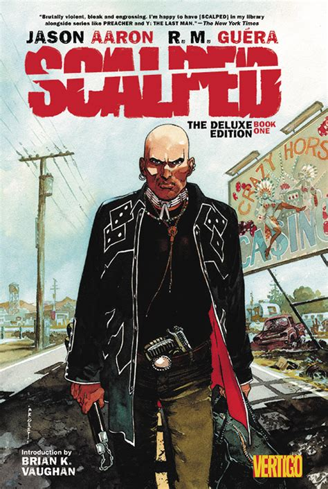 scalped deluxe edition hc 1401263631 oct140402 scalped hc book 01 deluxe edition previews world