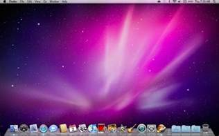 apple mac computer screen
