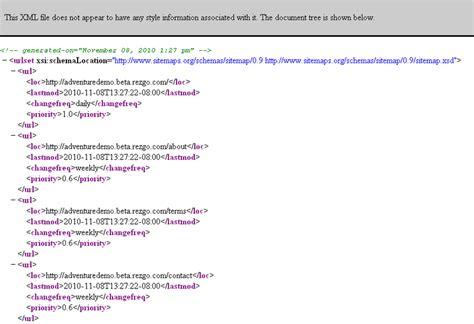 tutorial xml sitemap site map google xml
