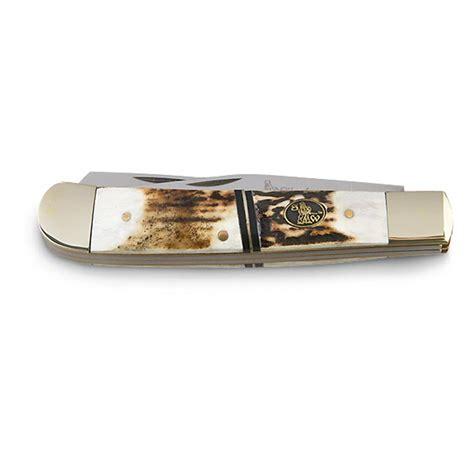 largest pocket knife large trapper stag pocket knife 209608 folding