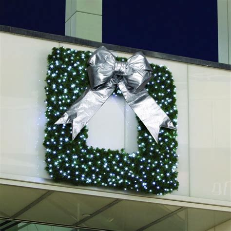 square framed commercial wreath commercial christmas supply commercial christmas decorations