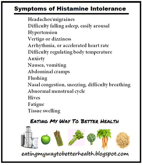 Detox Symtoms Or Histamine Response by My Way To Better Health Do You Histamine