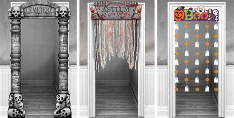 halloween door curtain halloween door decorations halloween door curtains