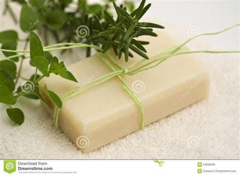 Handmade Herbal Soaps - handmade herbal soap royalty free stock images image