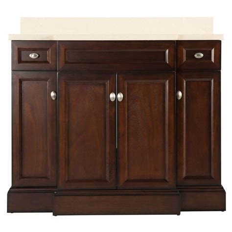home depot 42 inch bathroom vanity home decorators collection teagen 42 inch w vanity combo