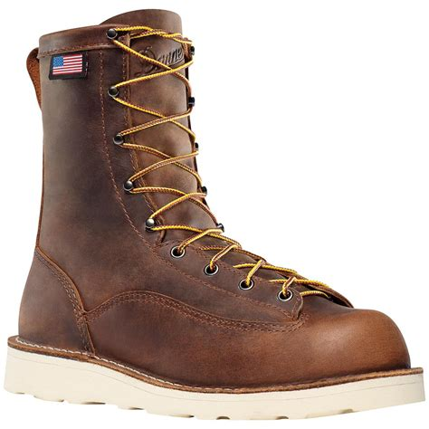 danner work boots danner 174 bull run 8 quot cristy work boots brown 581776