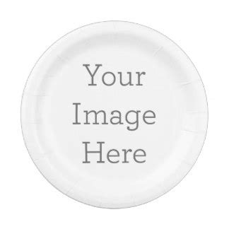 Make Your Own Paper Plates - plates zazzle