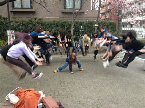 Asian Photographer Meme - faking anime fight scenes is emerging as a fun photo fad