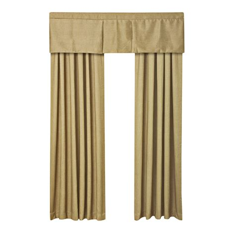 Box Pleat Valance Commonwealth Home Fashions Shadow Woven Box Pleat Curtain