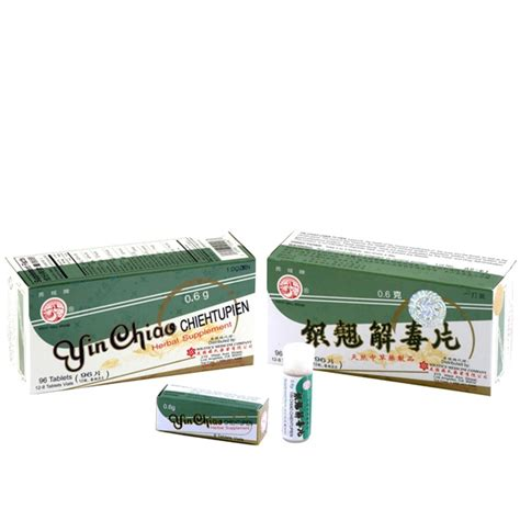 supplement yin yin chiao chieh tu pien for healthy respiratory system