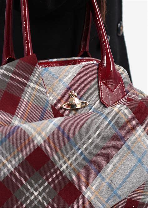 Be Tartan And Plaid Pretty In This Vivienne Westwood Dress by Vivienne Westwood Mac Pherson Winter Tartan Bag Aw13