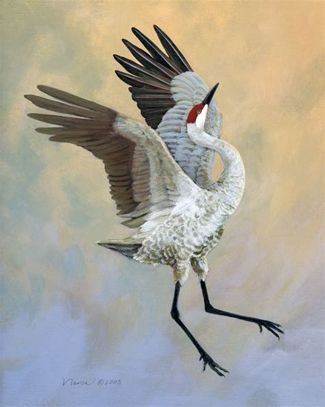 crane painting 183 best cranes images on herons