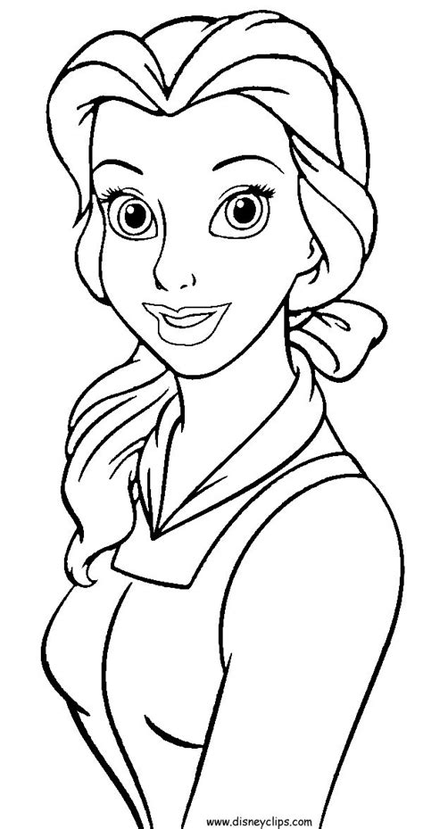 coloring pages disney and the beast disney colouring pages beast got present from