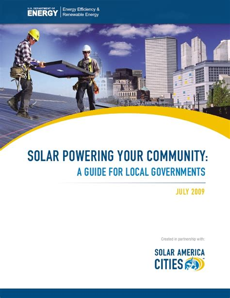 the solar patriot a citizen s guide to helping america win clean energy independence books solar powering your community a guide for local