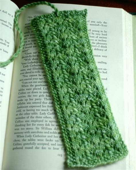 knitted bookmarks what to do with leftover sock yarn