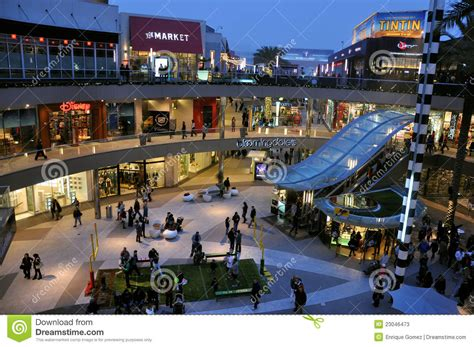 Stores Los Angeles by Los Angeles Shopping Mall Editorial Stock Photo Image Of
