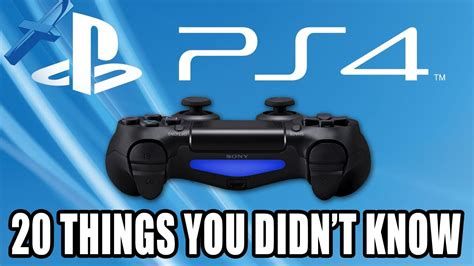 20 things you didn t know about your favorite classic hollywood ps4 20 things you didn t know about playstation 4 youtube