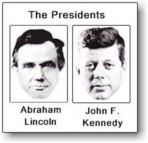 abe lincoln and jfk abraham lincoln and f kennedy evidence of