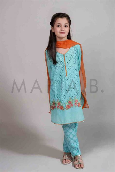mariab kids  girl partywear dresses  fashioneven