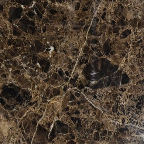 Marble Floor L by Emperador Polished Marble Tiles 18x18 Country