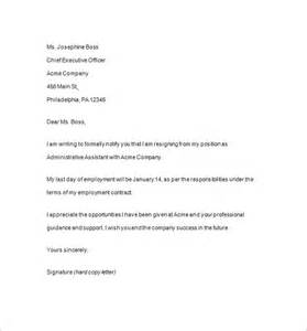 Templates For Resignation Letter Microsoft Word by Resignation Notice Template 12 Free Word Excel Pdf Format Free Premium Templates