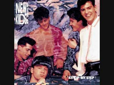 lyrics nkotb new on the block step by step