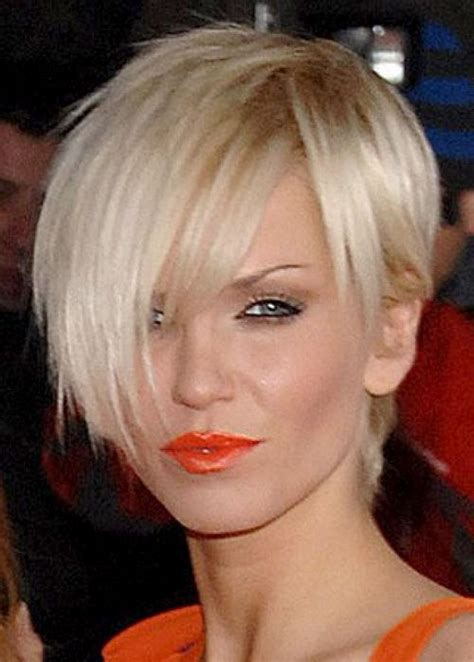pixie cut with long fringe short hair pinterest long long fringe short blonde hair hair styles pinterest
