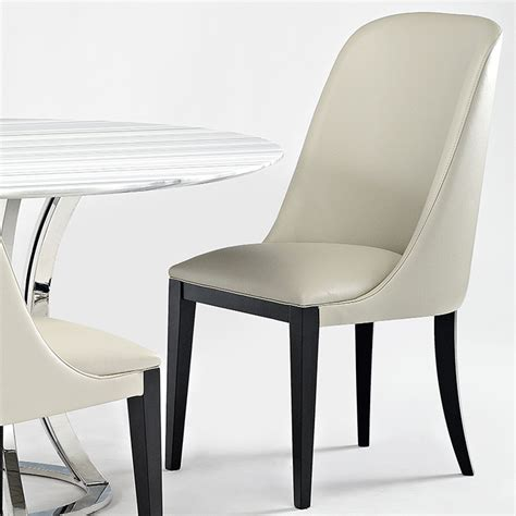 Designer Leather Dining Chairs Flamingo Designer Leather Dining Chair Robson Furniture