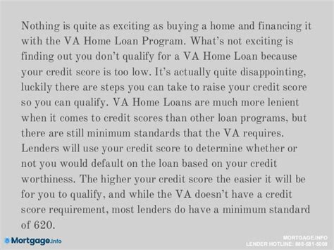 va mortgages va mortgage with low credit score