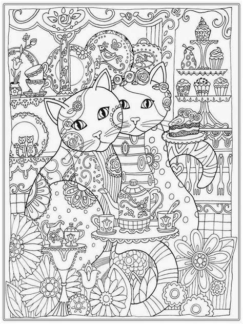 coloring book for adults cat coloring pages for coloring pages
