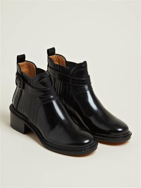 givenchy givenchy womens spazz leather ankle boots in