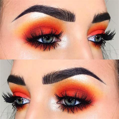 Eyeshadow Orange phoenixcosmetic www phoenixcosmetics makeup makeup eyeshadow