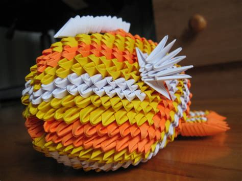 3d Origami Koi Fish - 3d origami koi fish by origamigenius on deviantart
