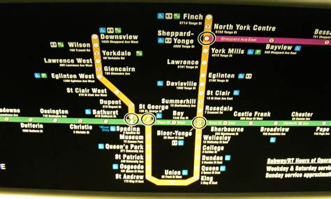 toronto subway map ttc subway map update back from the drawing board spacing toronto