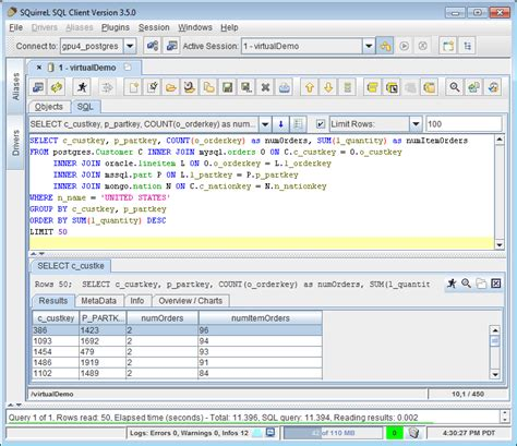 sql challenge queries unityjdbc multisource plugin for squirrel sql query