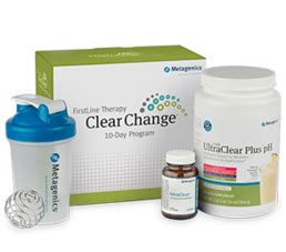 Metagenics Ultra Clear Detox Program by Clear Change 10 Day Detox Program With Ultraclear Plus Ph