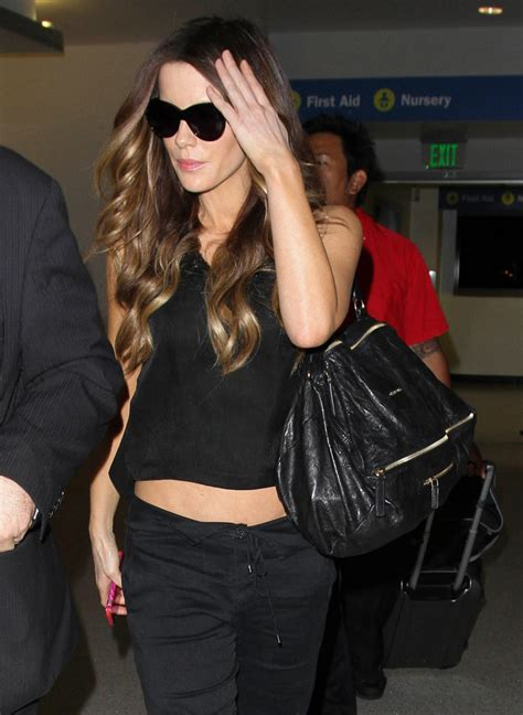 Name That Bag Kate Beckinsale by 50 And The Bags They Carried To Fly Out Of Lax