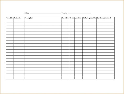 checklist templates create printable checklists with excel