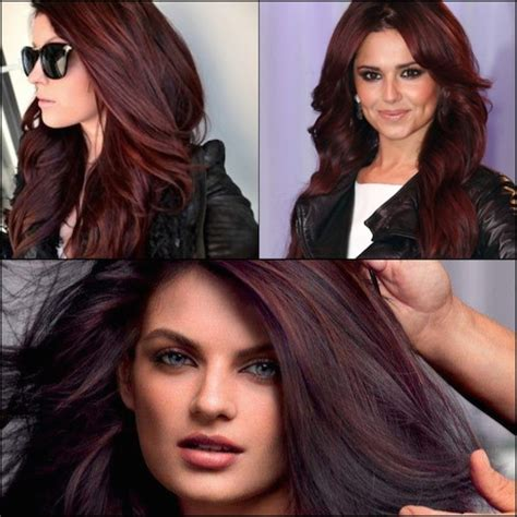 cocoa cola red hair color stylenoted inspirational hair color like cherry coke