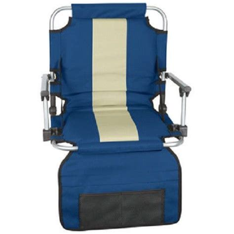 portable seat cushion with back support seat bleacher stadium chair cushion folding