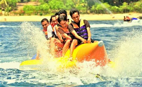 banana boat ride safe banana boat ride at om beach thrillophilia