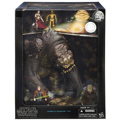 Lego Bootleg Starwars Big Figure Rancor look toys quot r quot us wars black series jabba s rancor pit sdcc 2015