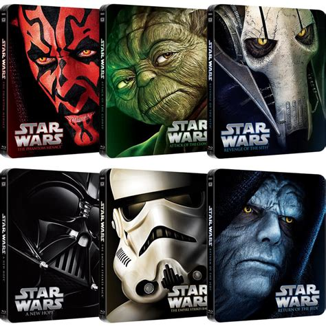 Limited Edition Syari wars complete collection limited edition steelbooks
