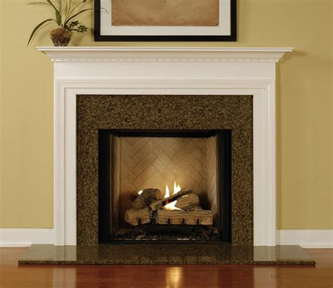 Wood Mantel On Fireplace by Fireplace Mantel Surrounds Custom Albertville