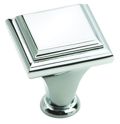Bathroom Cabinet Knobs Amerock Decorative Cabinet And Bath Hardware Bp2613126 Cabinet Knob Polished Chrome