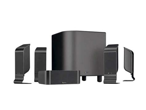 infinity tss  ch charcoal home theater speaker