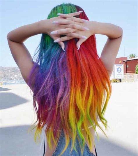 une coiffure tendance cest un dip dye felin orange et noir selon les 25 meilleures id 233 es concernant les couleurs de cheveux