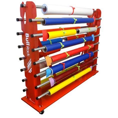 Vinyl Storage Rack by Storage Racks Vinyl Roll Storage Racks